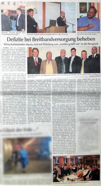 Zeitungsartikel Breitband Landau gefällt mir Landauer Zeitung