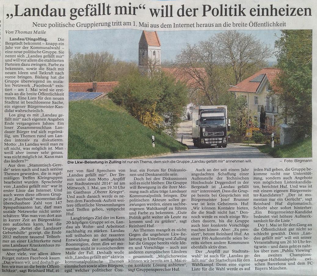 Zeitungsartikel Landauer Neue Presse 2013-04-28_sa