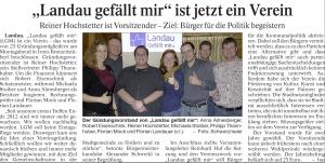Aus Landauer Neue Presse
