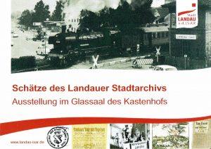 Schätze des Landauer Stadtarchivs - die Ausstellung läuft bis 08. Februar